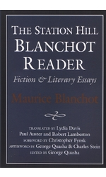 STATION HILL BLANCHOT READER